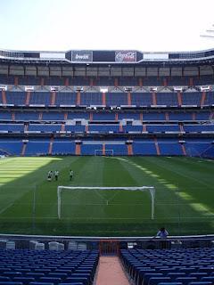 Santiago Bernabeu, Madrid, Real Madrid, fondo norte, estadio,