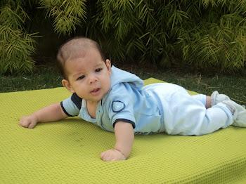 ♥Lucas com 3 meses: 6,630kgs e 62cm