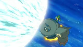 Pokemon Darkness of Island  Golurk_Flash_Cannon_2