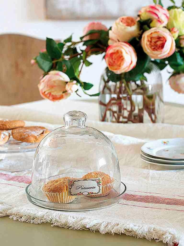 Detale rustykalne, dekoracje stołu