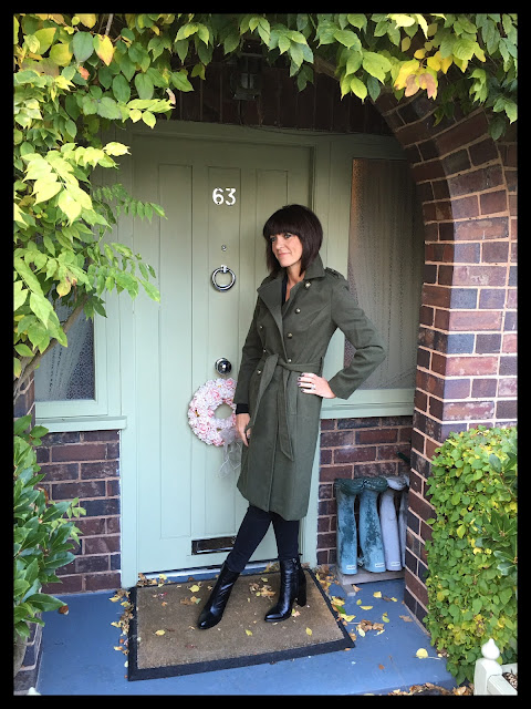 My Midlife Fashion, Sainsburys TU Clothing, Military Coat