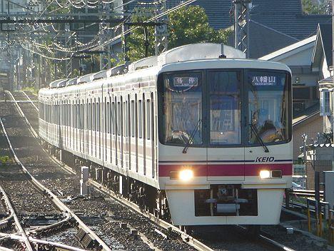 京王電鉄 各停 八幡山行き 8000系