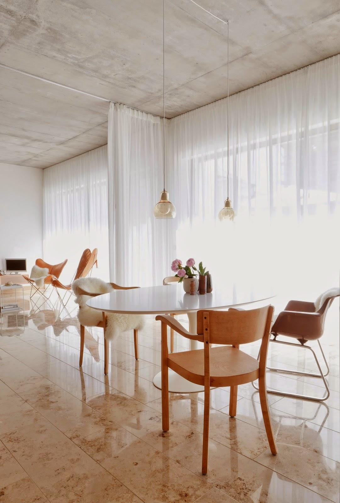 Blog de decora o arquitrecos cortinas dividindo ambientes - Cortinas separadoras de ambientes ...