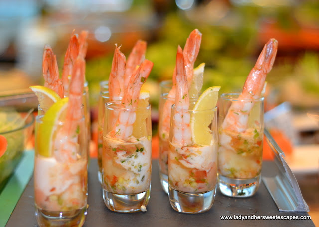 seafood at The Art of Brunch in Movenpick Dubai