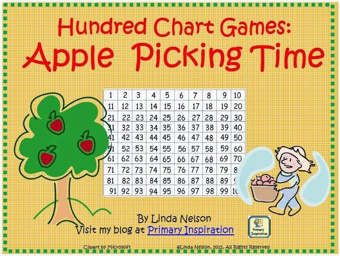 http://primaryinspiration.blogspot.com/2012/07/freebie-for-hundred-chart.html