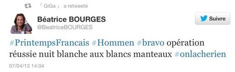Tweet de Bourges