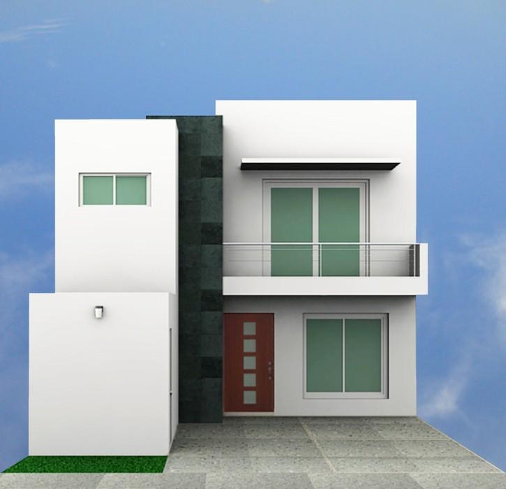 Fachadas contempor neas fachadas contempor neas modelo b8 for Ver fachadas de casas minimalistas