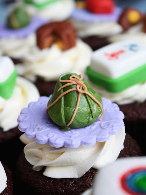 chinese mid-autumn festival cupcakes