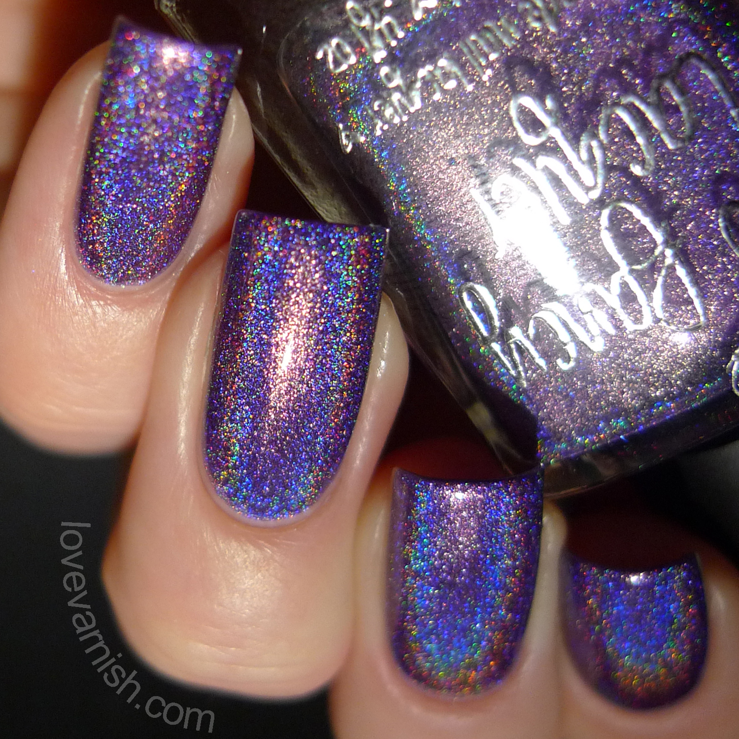 Too Fancy Lacquer Color4Nails exclusive Violette Etoilee