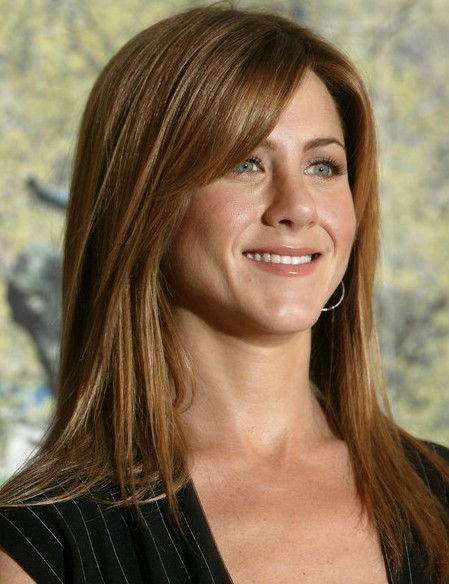 jennifer aniston long hairstyles