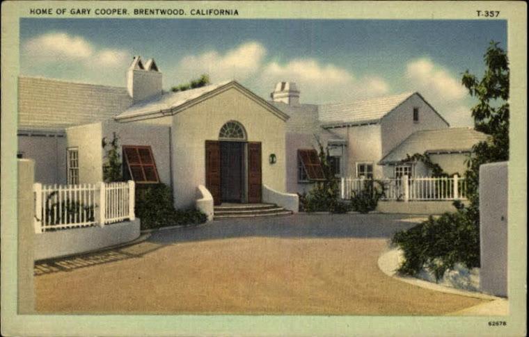 Gary Cooper's Bermuda house. (Postcard).