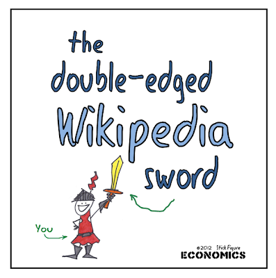 The Double-Edged Wikipedia Sword