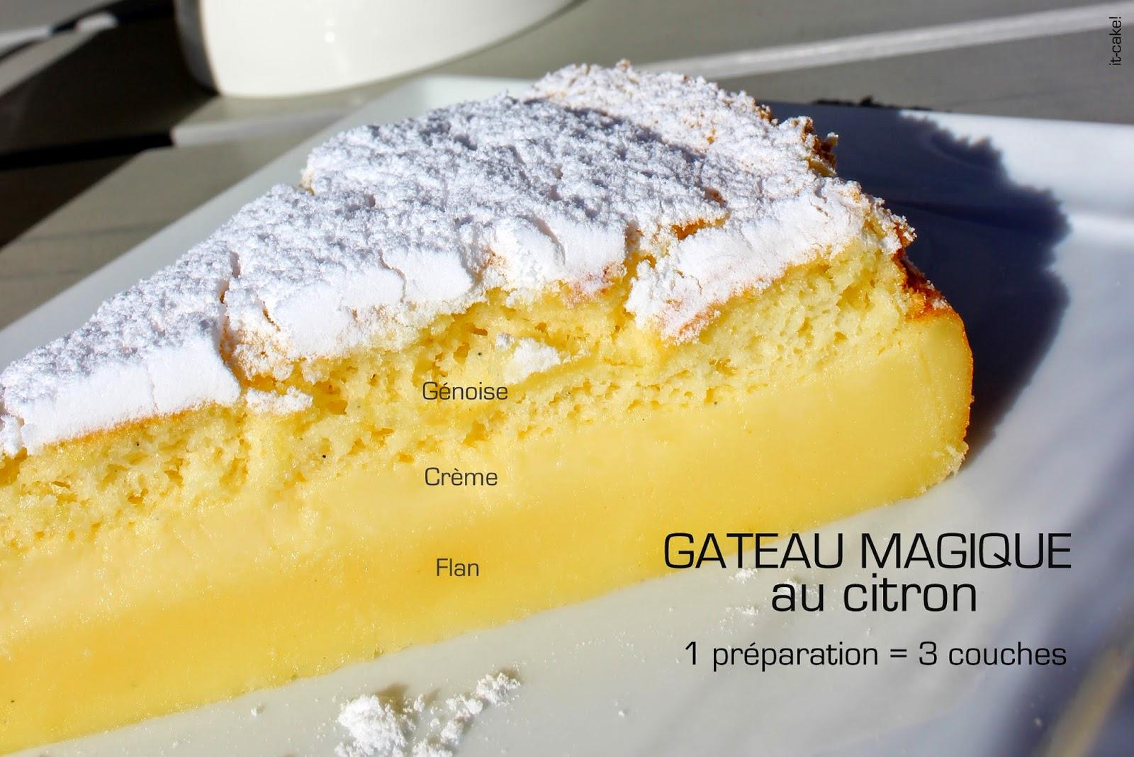 it cake g teau magique vanille citron toutes les astuces. Black Bedroom Furniture Sets. Home Design Ideas