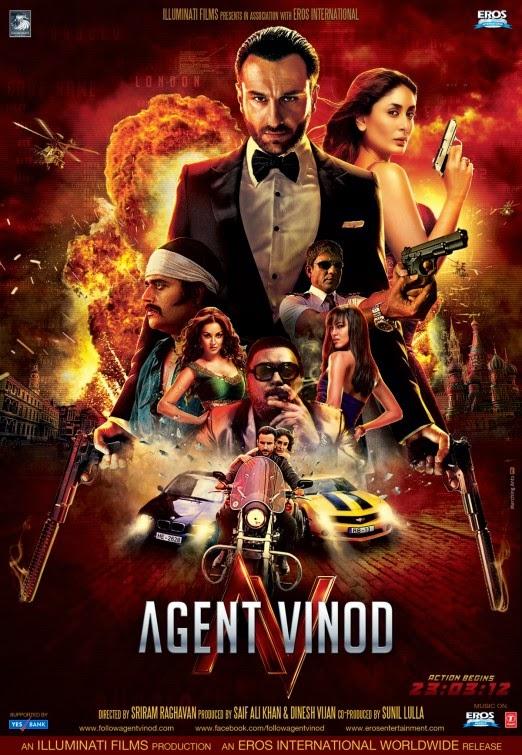 Hindi Old Action Movie Agant Vnod 2012 DvdRip 480p 400MB