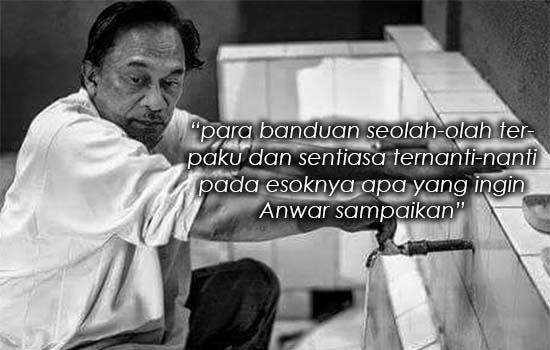 Bekas banduan dedah kehidupan Anwar Ibrahim di penjara