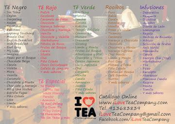 Catálogo Online de Tés y Accesorios de Té