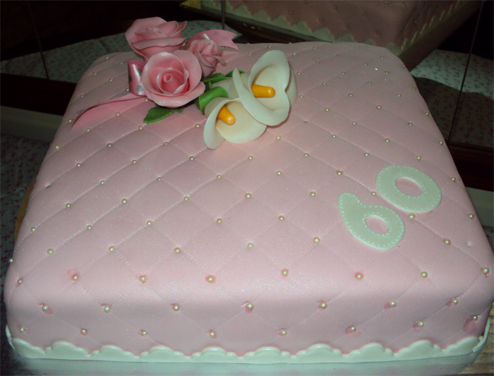 Delanas Cakes 60th Birthday Cake