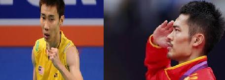 Siaran Langsung Lee Chong Wei Temu Lin Dan Separuh Akhir Badminton Sukan Asia 2014