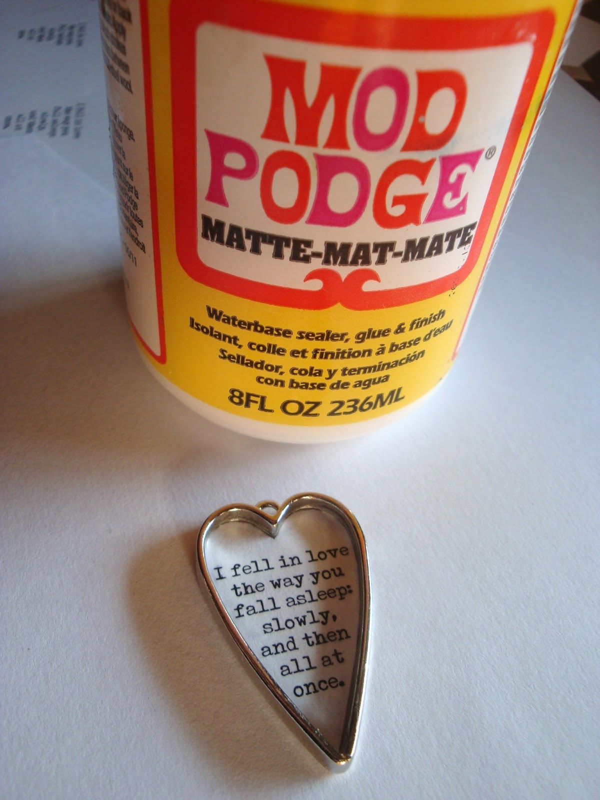 Glitter in my Kitchen: Mod Podge Dimensional Magic Review ...
