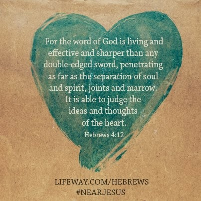 Hebrews #NearJesus