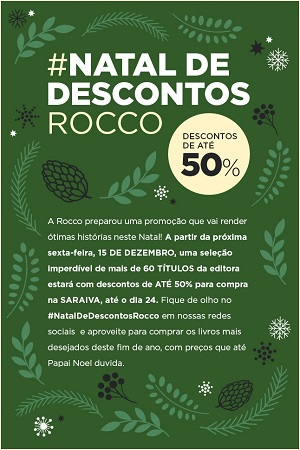 #Natal de Descontos Rocco