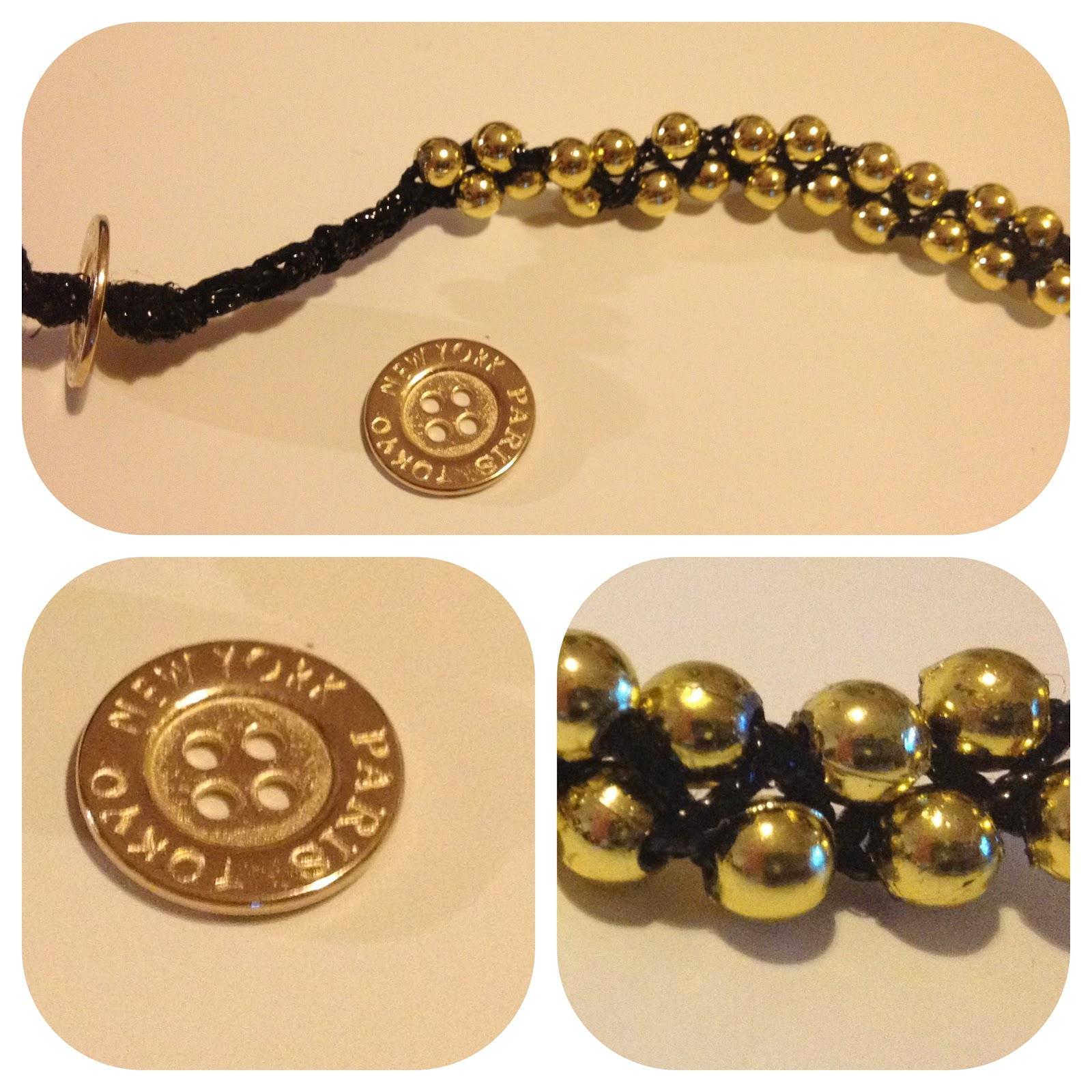 Diy Beads: DIY Braided Bead Bracelet