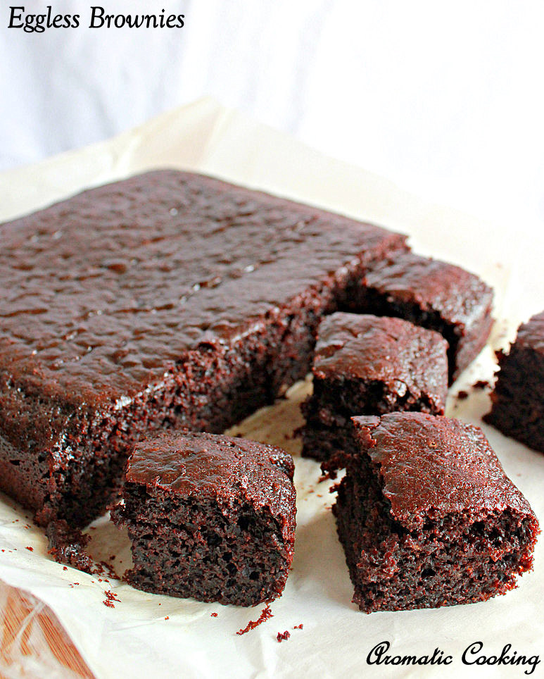 Aromatic Cooking: Eggless Brownies