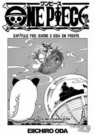 One Piece Mangá 758 Português