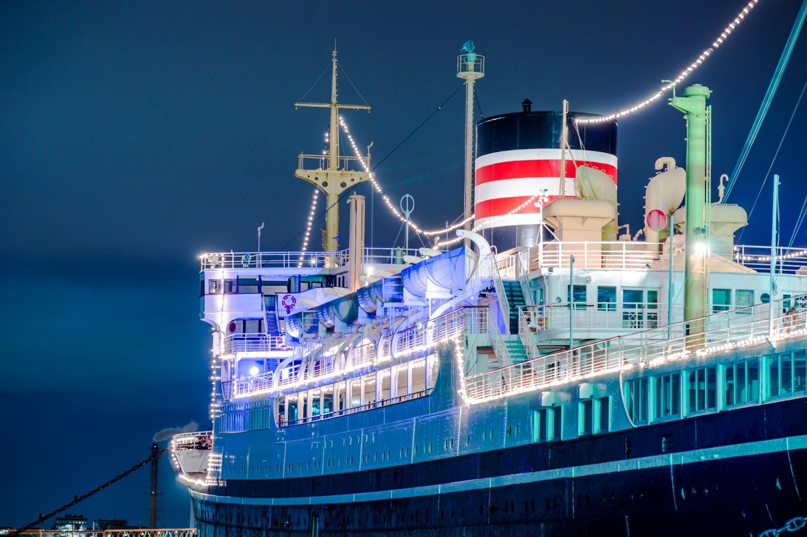 博物館船「氷川丸」の写真