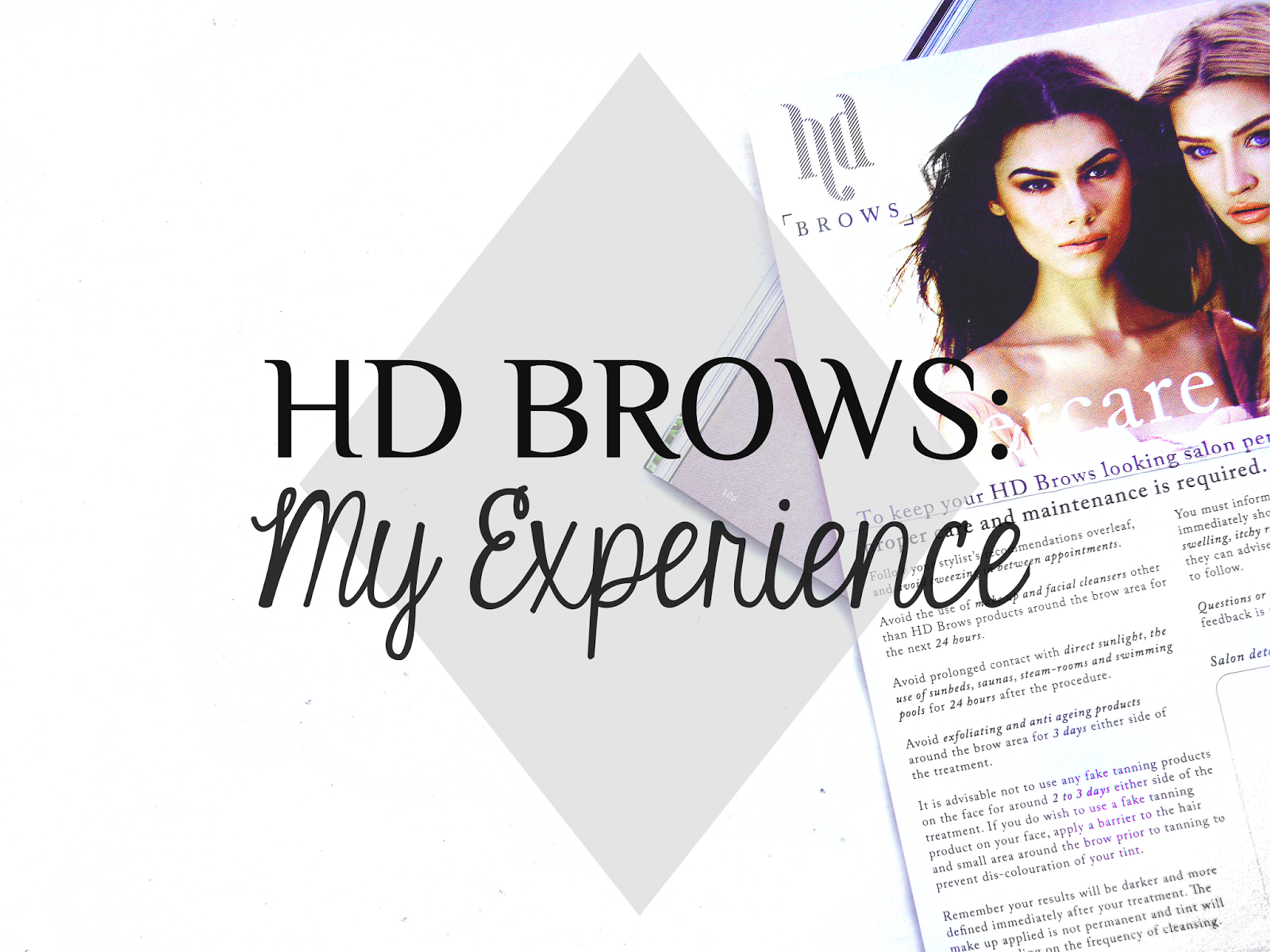 HD brows review is it worth it before and after experience youwishyou 2015 beauty eyebrows