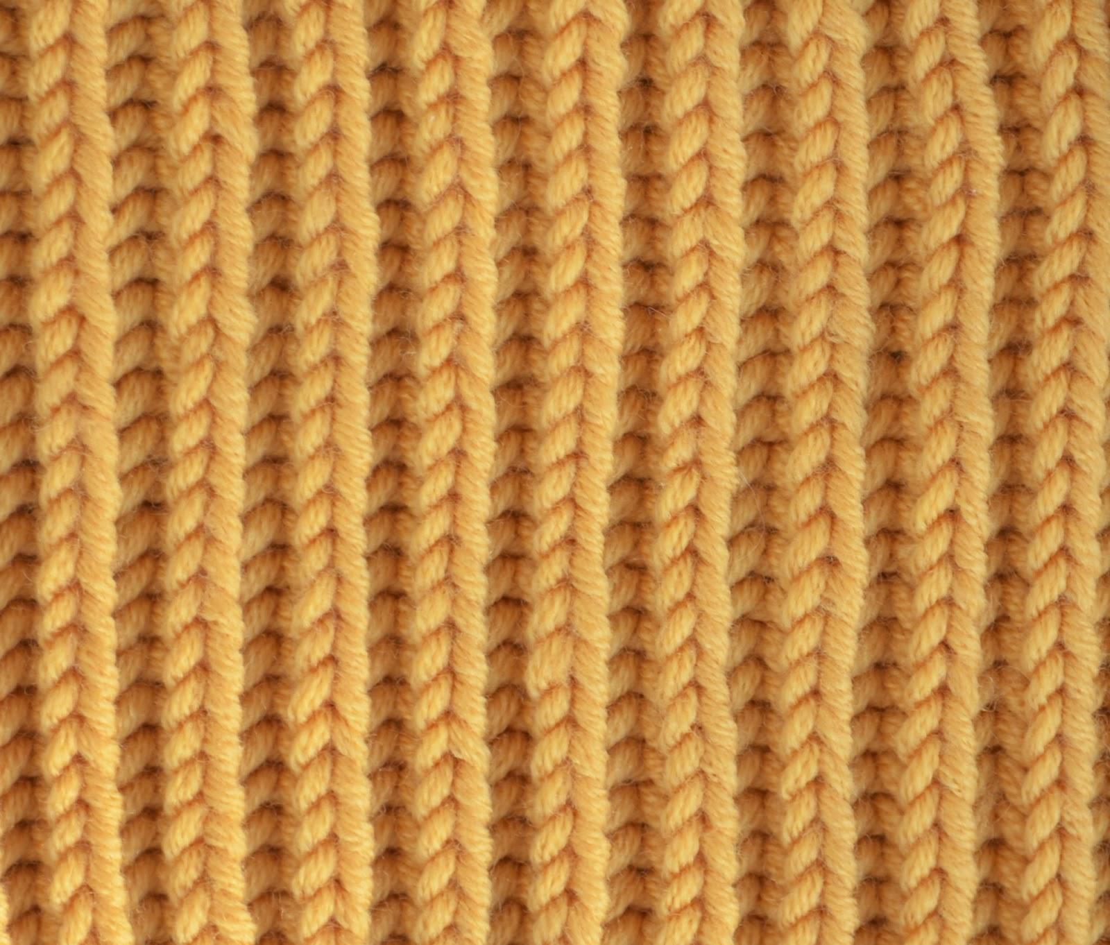Textured Knits Brioche Stitch