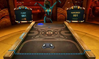 Screenshots of the Shufflepuck Cantina for Android tablet, phone.