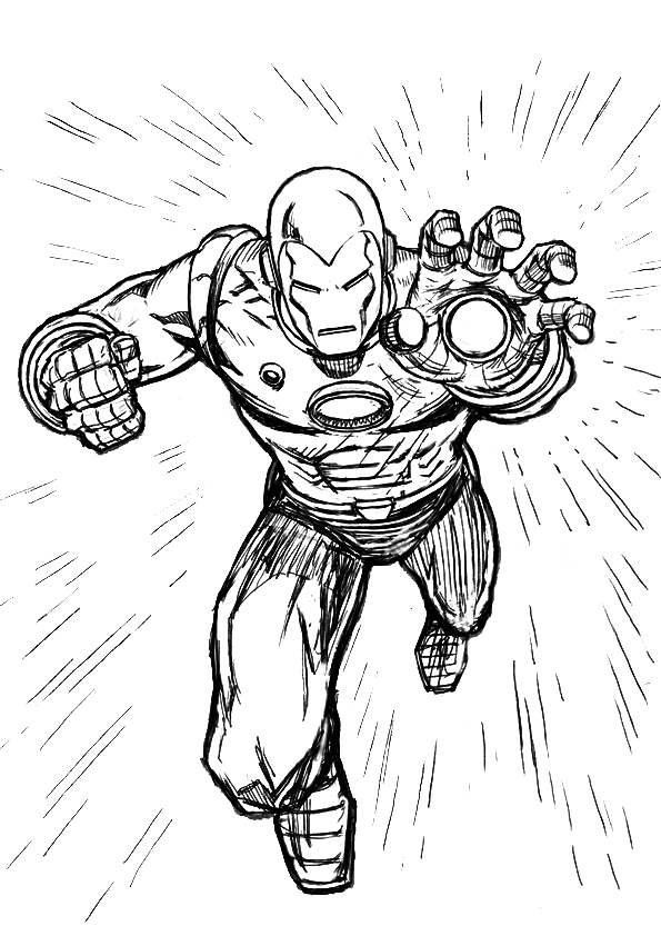 Iron man coloring pages free printable coloring pages for Free coloring pages iron man
