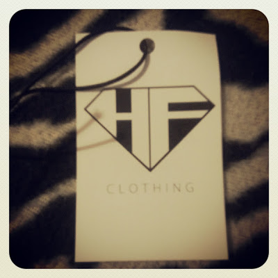 HighFlyers Clothing branded lable