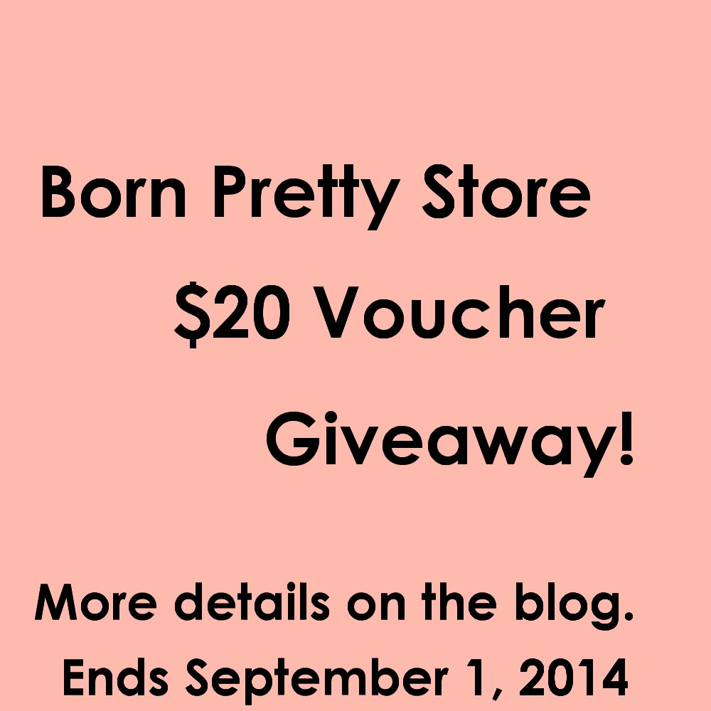 The Polish Playground - Born Pretty Store $20 Voucher Giveaway