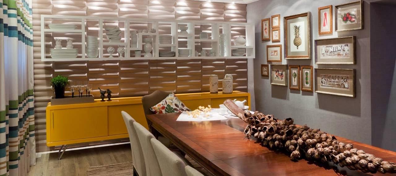 Salas de jantar 50 modelos maravilhosos e dicas de como for Modelos de salas modernas