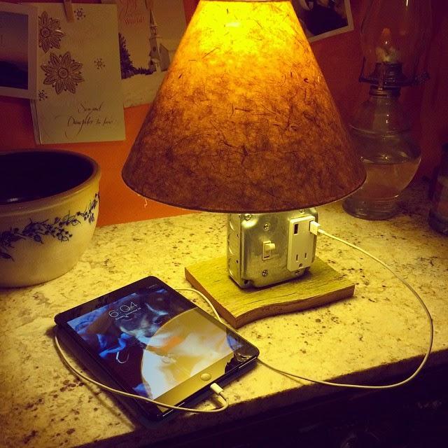 USB charger lamp - heatherq.com