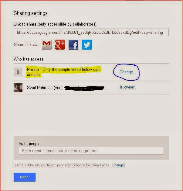 how to change google drive nickname