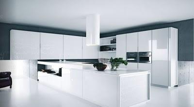 Inspiration modern white kitchen design futuristic | Inspiration ...