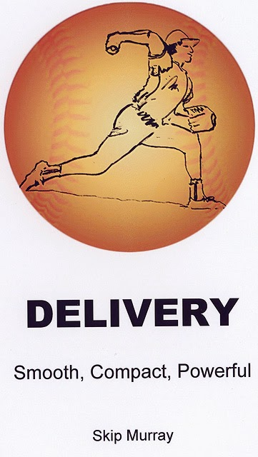 Cover of the Baseball pitching instruction book, Delivery
