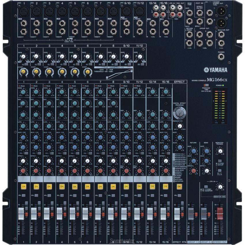 Mixer Audio Merk Yamaha MG 166CX Dan Harga Jual