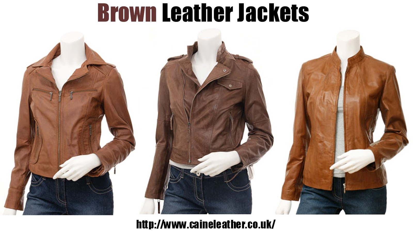 Brown Leather Jacket For Girls - My Jacket