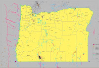 Oregon Earthquake Map