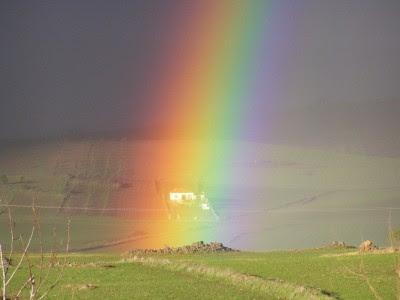 arco iris La representación errónea del arco iris en los dibujos animados.