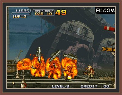 Metal Slug 2 Screen Shot No.2