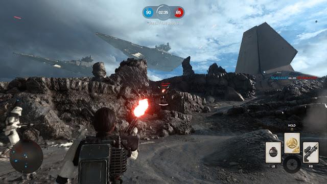 Star Wars: Battlefront sullust stormtrooper