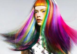 Cara Membuat Hair Chalk Pewarna Rambut Alami Cat Tidak Permanen