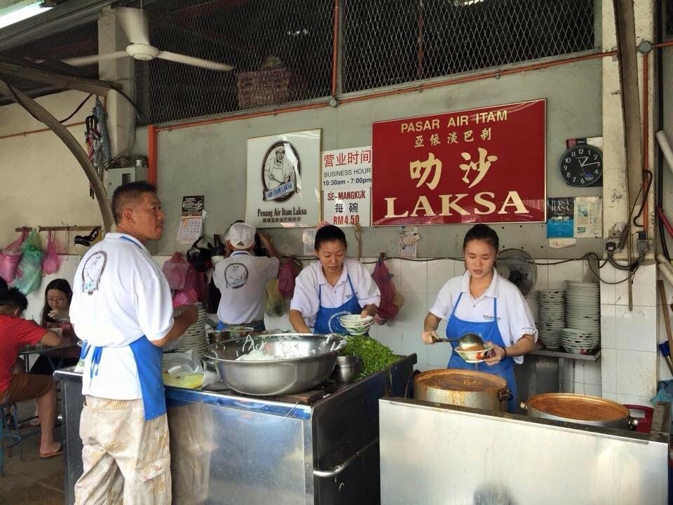 Image result for 亚依淡巴刹叻沙 - 亚参叻沙 1 Jalan Pasar, Paya Terubong, George Town, Pulau Pinang