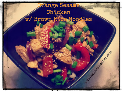 Clean Eating Orange Sesame Chicken