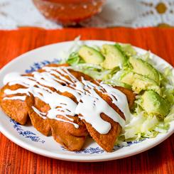 Mexilish: Enchiladas Potosinas - Chile Ancho Enchiladas